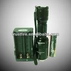2013 most popular TrustFire Z6 zoom flashlight 1000lm CREE xml t6 flesh light with aluminum housing flash light led