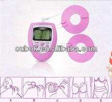 Mini de color rosa del realce del pecho/desnuda de masaje