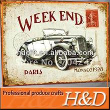 car/shop/bar advertising sign board