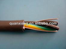 PVC RVV Electrical Wire 4*1mm2