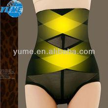High Waist Black Ladies Sliming Shape Underwear