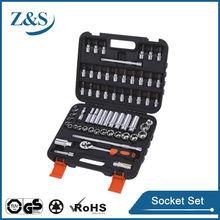 "61 pcs 3/8"" bit socket set, socket wrenches"