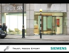 Transparent All-glass Revolving Door Enhanced With SIEMENS Drive & Control Unit