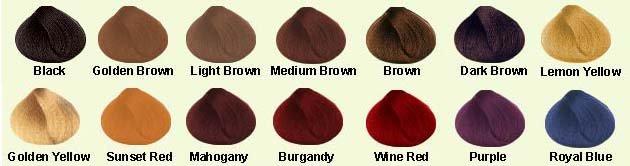 Polvo a base de hierbas del Color del pelo tintes-Tinte para el ...