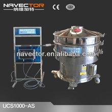 Acetate vibratory separator