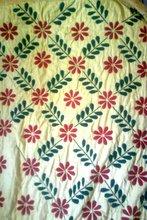 Hand stitch Bed Sheet