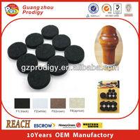 Self adhesive felt floor protector peel and stick flooring