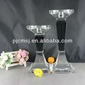 Alta qualidade de cristal da vela titular, candlelabra para decoração de casa