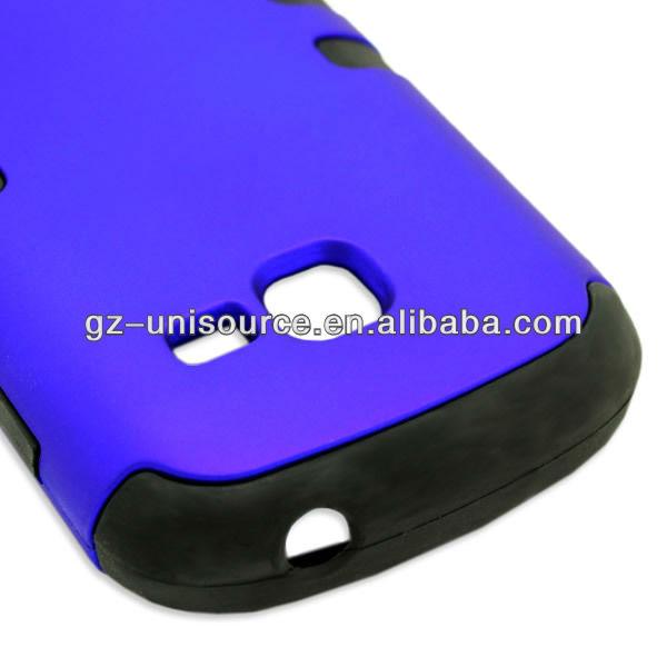 Hybrid Armor Combo case Hard PC+TPU for Samsung GALAXY CENTURA S738C /DISCOVER S730G
