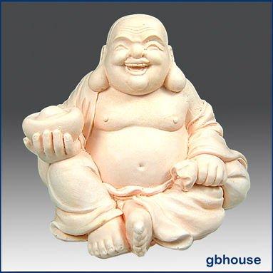 3D Silicone savon et bougie moule rire bouddha