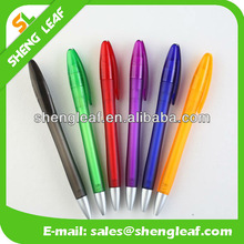 Chinese Customs rubber grip plastic ball pen