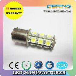 Fashion design T20 smd 5050 auto car turn lamp ,brake light,led turning light bulb