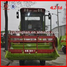 4LZ-3.6 soybean harvester, green bean cutter