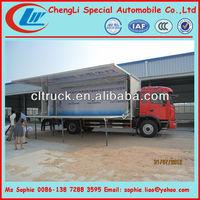JAC mobile workshop truck, stage truck