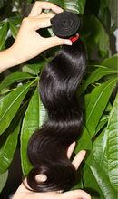 hot!!! virgin indian hair weaves/bundles natural wavy hair extensions