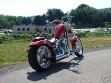 Custom Built Motorcycles: Chopper 2004