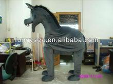 zebra mascot costume/horse mascot costume/zebra horse mascot costume