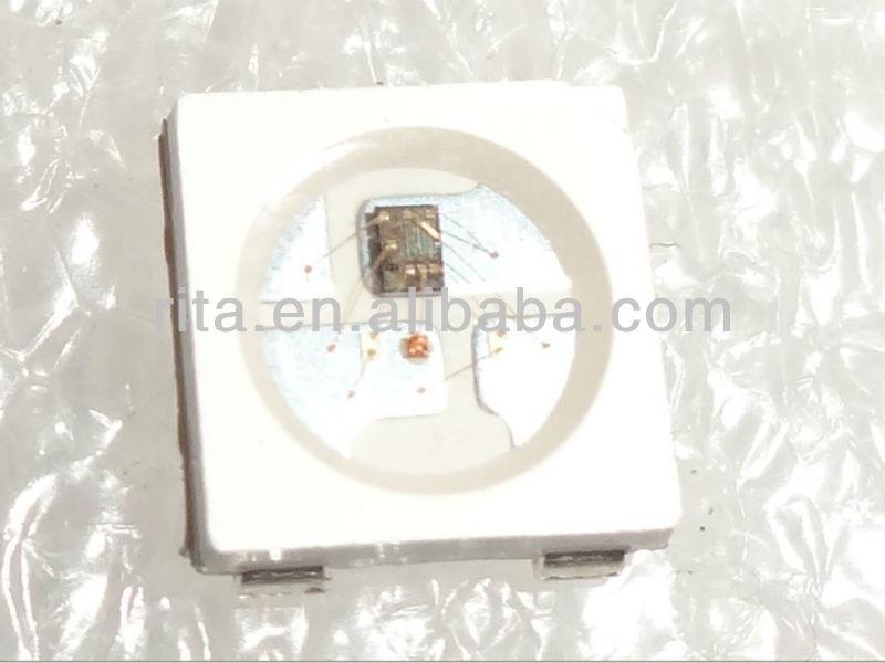 1000 stück ws2812b; 4 pin; 5050 smd rgb led mit gebaut- in ws2811 ic innen;