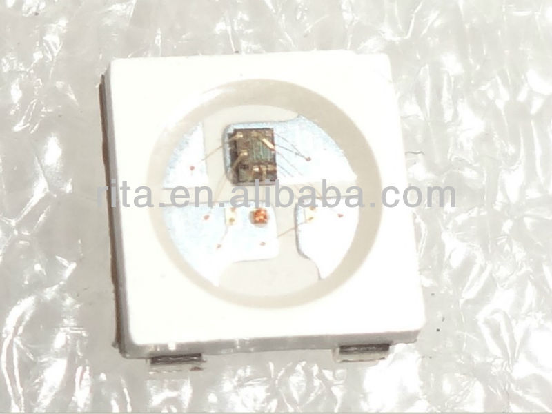1000 adet ws2812b; 4 pin; 5050 SMD RGB ile açtı built- ws2811 ic içinde;