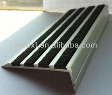 serrated anti-slip steel stair treads/laminate stair treads