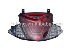 Motorcycle Integrated Red&Clear LED lensTail Light for PGO