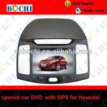 High performance in dash car dvd player for hyundai sonata