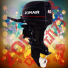 2 STROKE 40HP ZOMAIR used yamaha outboard motors for sale
