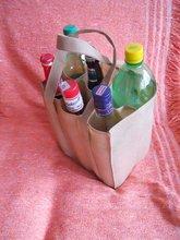 Bottle Bag in No Tejido