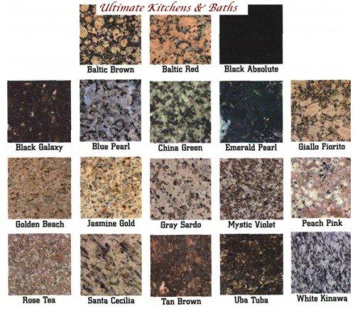 Granito pre fabricado granito identificaci n del producto - Colores del granito ...