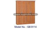 Simple Special Designs Wardrobe 4 Doors Without Mirror, modern bedroom furniture, laminate bedroom wardrobe designs, simple
