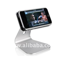 Aluminum Rotatable Holder for iPhone, iPod & Mobile