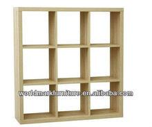 Alpine simple design bookcase with 12 shelves (IKEA supplier)