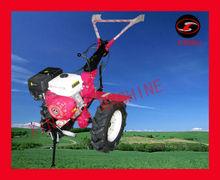New Arrival Gear Driven Diesel/Gasoline Engine mini tiller in garden farm