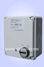 Transformer 5-stage fan speed control unit ~1 230 V