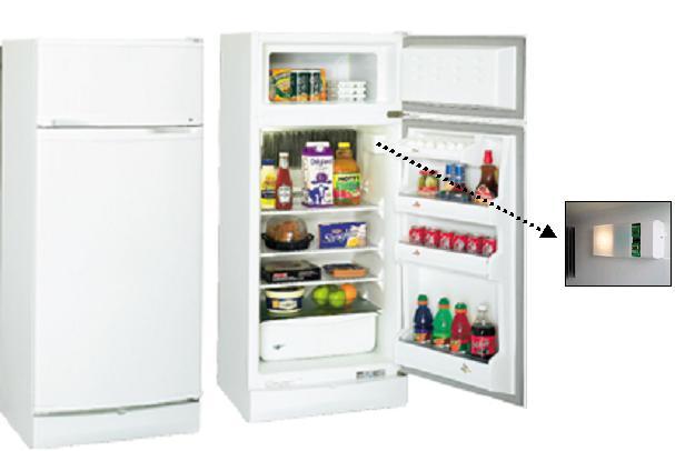 Gas refrigerador de absorción de impactos cónsul