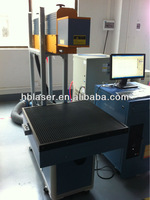 2013 Dynamic 55W co2 American Coherent Tube 3D non-metal co2 tire laser marking machine for logo