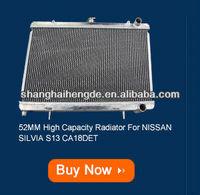 Special price radiator For FORD Falcon V8 MT 3CORE green radiator hose kit
