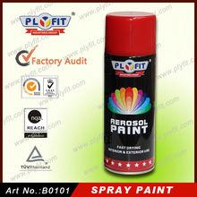 450ml dry fast multi colors aerosol spray paint