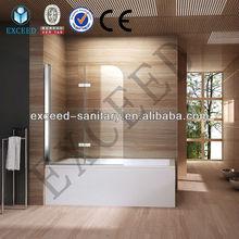 Deluxe massage bath shower screen