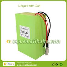 LiFePO4 battery pack LiFePO4 48V 10AH