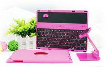 360 Degree Rotatable rotate case Bluetooth Keyboard case for ipad 2&3&4, Korean bluetooth keyboard, Arabic spanish keyboard