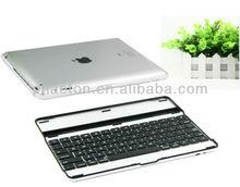 wireless aluminum bluetooth ipad keyboard for ipad 4