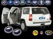 LED Door Shadow light Logo Car Door Step laser projector Chevrolet