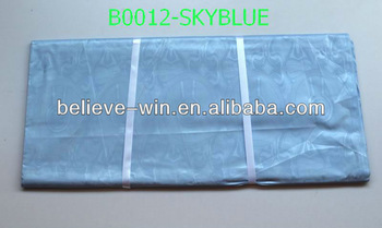 2013 african brocade fabric for bazin clothes of B0012-skyblue