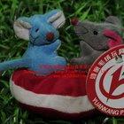 two mice /plush toy