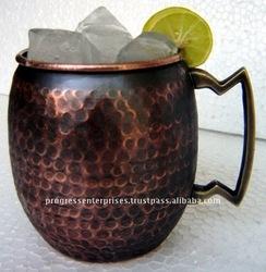 MANUFACTURER OF COPPER CUP & TANKARD FOR Blavod Black Vodka