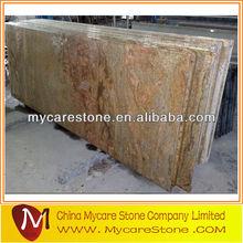 Gold king solid color granite countertop