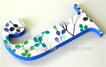 decorative alphabet letters wooden DIY craft kids diy crafts nautical crafts diy