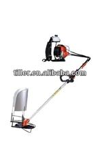 Black High efficiency garden grass cutter machine with strong engine