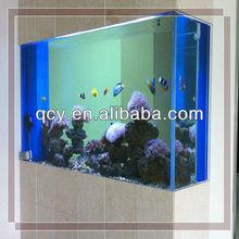 New Design Transparent Fish Tank with LED Light,Air Pump,Fliter